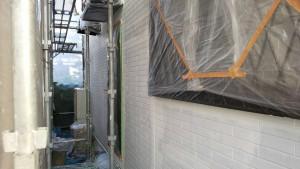 筑紫野市 外壁 塗装工事 A様邸 サイディングボード 塗装 下塗り 日本ペイント パーフェクトサーフ 完了