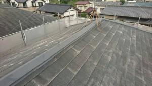 筑紫野市 A様邸 塗装工事 コロニアル屋根 塗装作業 下塗り 施工前