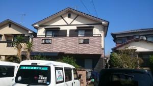 筑紫野市 A様邸 外壁 屋根 塗装工事 施工前