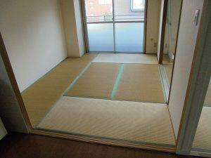 筑紫野市 S様邸 和室畳 フローリング張り替え工事 施工前