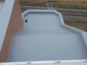 太宰府市 ベアバレー太宰府 マンション ウレタン塗膜防水工事 ウレタントップコート 塗布 完了