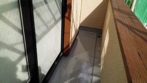 福岡県 太宰府市 W様邸 ベランダ 防水工事 ウレタン塗膜防水密着工法 完了
