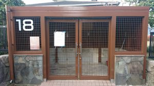 筑紫野市 天拝坂 ゴミ置き場 塗装工事 完了