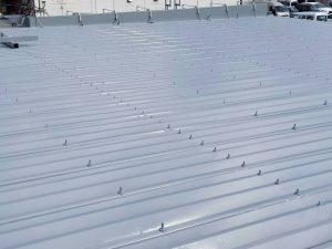 春日市 むさし整骨院 折半屋根 板金屋根 塗装工事 日本ペイント ファインパーフェクトベスト