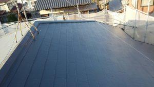 福岡県 筑紫野市 A様邸 塗装工事   日本ペイント ファインパーフェクトベスト コロニアル屋根塗装 完了