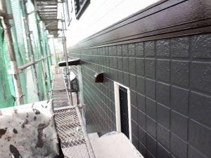 福岡県 筑後市 塗装工事 Y様邸 外壁 超高耐候超低汚染無機系塗料 パーフェクトセラミックトップG 仕上げ