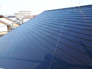 福岡県 新宮町 H様邸 コロニアル屋根 塗装工事  日本ペイント ファイン4Fベスト(フッ素塗料)