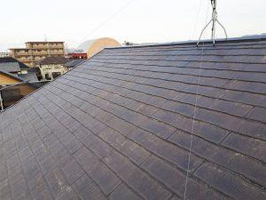 福岡県 新宮町 戸建て住宅 塗装工事 コロニアル屋根 下塗り パーフェクトシーラー 完了