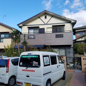 福岡県 筑紫野市 A様邸 塗装工事   日本ペイント パーフェクトトップ仕上げ 全体完了
