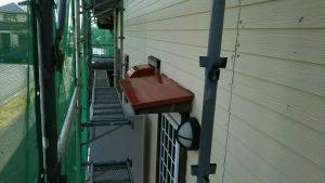 福岡県 小郡市 T様邸 塗装工事 板金 錆止め 下塗り 完了