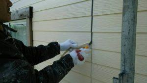 福岡県 小郡市 T様邸 塗装工事 外壁 目地 シーリング打替え 既存撤去