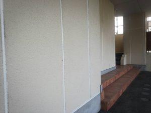 福岡県 粕屋郡 須恵町 ファーストコート アパート改修塗装工事 ALC 目地シーリング工事 シール充填 完了