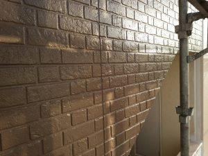福岡県 粕屋郡 須恵町 ファーストコート アパート改修塗装工事 外壁サイディングボード 上塗り パーフェクトトップ 完了
