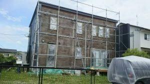 福岡県 太宰府市 T様邸 木部 塗装工事 下地ケレン 清掃 完了