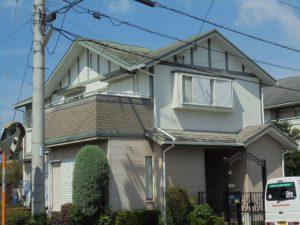 筑紫野市 R様邸 外壁 屋根 塗装工事 施工前