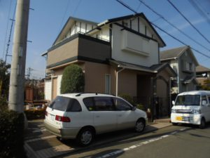 筑紫野市 R様邸 外壁 屋根 塗装工事 施工後
