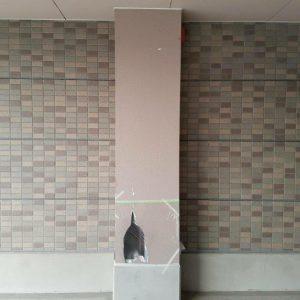 福岡県 宗像市 キリスト教会 柱壁 欠損補修 塗装工事 施工前