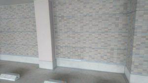福岡県 宗像市 キリスト教会 磁器タイル補修工事 張替え完了