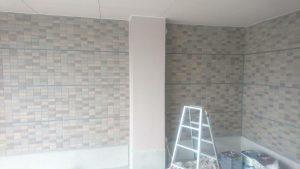 福岡県 宗像市 キリスト教会 柱壁 欠損補修 塗装工事 完了