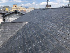 福岡県 那珂川町 パティオ那珂 外壁 屋根 改修工事 コロニアル屋根 塗装 施工前