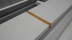 福岡市 中央区 キリスト教会 屋上 笠木 シーリング工事 ボンドブレーカー貼り付け
