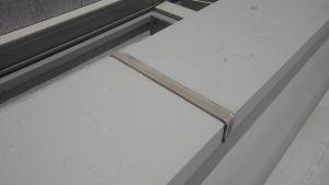 福岡市 中央区 キリスト教会 屋上 笠木 シーリング工事 ブリッジ工法 施工前