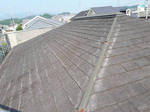 筑紫野市 Y様邸 コロニアル屋根 塗装工事 施工前