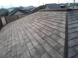 筑紫野市 Y様邸 コロニアル屋根 塗装工事 高圧洗浄 完了