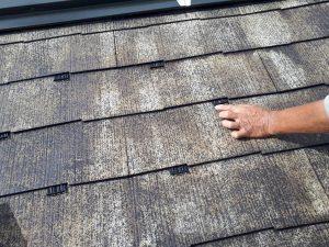 福岡県 筑紫野市 Y様邸 戸建て住宅 コロニアル屋根 塗装工事 縁切工法 タスペーサー 取付け