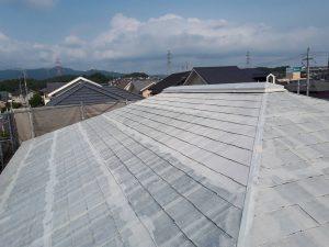 福岡県 筑紫野市 Y様邸 戸建て住宅 コロニアル屋根 塗装工事 遮熱塗装 サーモアイシーラー 完了