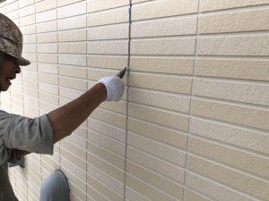 福岡県 小郡市 H様邸 塗装工事 シーリング撤去