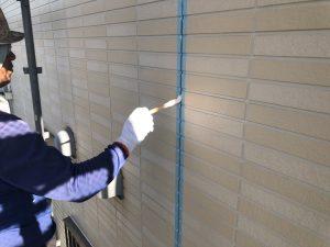 福岡県 小郡市 H様邸 塗装工事 プライマー塗布