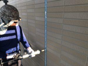 福岡県 小郡市 H様邸 塗装工事 シール材 充填