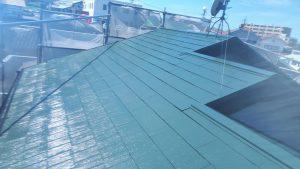 福岡県 太宰府市 U様邸 コロニアル屋根 塗装工事 完了