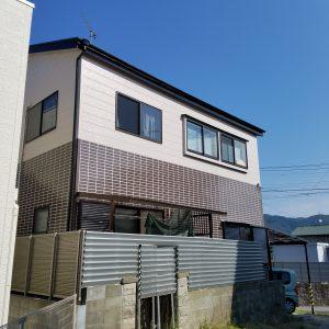 福岡県 太宰府市 H様邸 外壁 戸建て住宅 塗装工事 完了