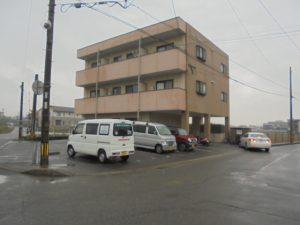 福岡県 糟屋郡 須恵町 ファーストコート アパート 塗装 改修工事 施工前
