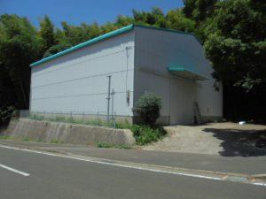 長崎県 壱岐市 壱岐スチロール 第二倉庫 工場 塗装工事 施工後