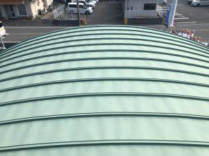 福岡県 春日市 天国社 瓦棒 板金屋根 塗装工事 施工前
