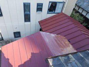 太宰府市 板金屋根 塗装工事 日本ペイント ファインパーフェクトベスト