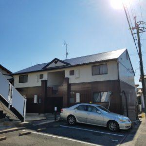 福岡県 那珂川町 パティオ那珂 アパート 塗装工事 完了