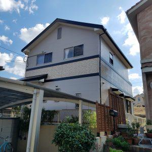 福岡県 大野城市 U様邸 外壁 屋根 塗装工事 完了