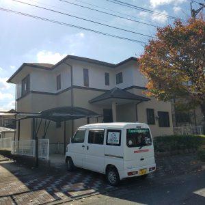 佐賀県 基山町 T様邸 戸建住宅 外壁 塗装工事 完了
