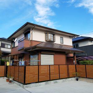 福岡県 筑紫野市 N様邸 外壁 屋根 戸建住宅 塗装工事 完了