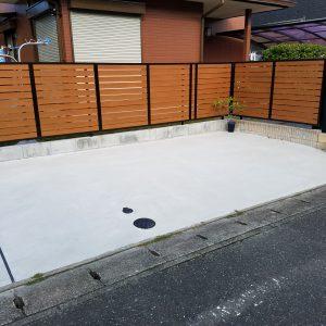 福岡県 筑紫野市 N様邸 駐車場 ガレージリフォーム 工事 完了