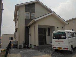 福岡県 筑紫野市 S様邸 外壁 屋根 住宅 塗装工事  施工前