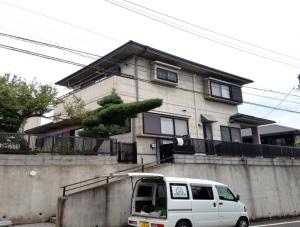 筑紫野市 H様邸 外壁 屋根 塗装工事 施工前