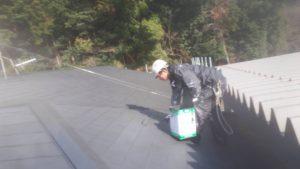 福岡県 太宰府市 コロニアル屋根 塗装工事 日本ペイント ファインパーフェクトベスト