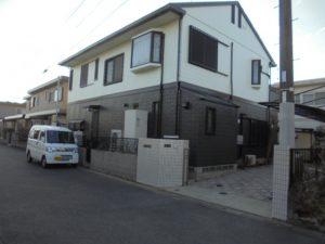 福岡県 筑後市 Y様邸 外壁 屋根 塗装工事 施工前