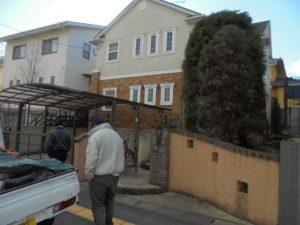 太宰府市 K様 戸建て住宅塗装 施工前