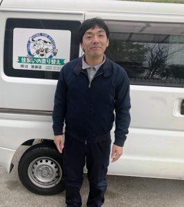 辻塗装店 塗装職人 真樹さん マー君 マサヤン (笑)